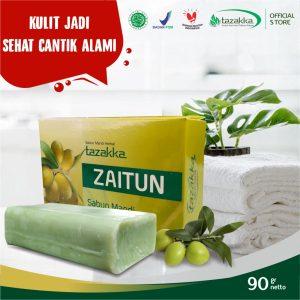 Tazakka Sabun Mandi Batang Herbal Zaitun