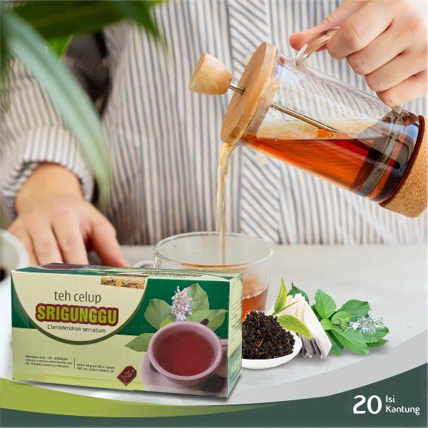 Teh Celup Srigunggu Herbal Tazakka