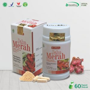 jahe merah herbal Tazakka