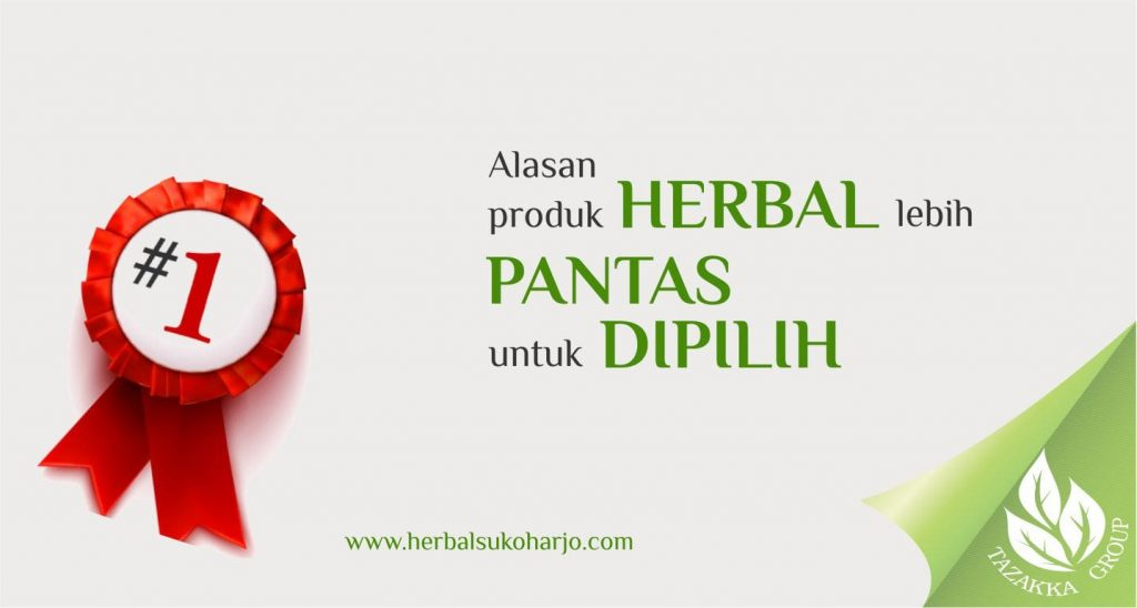 foto gambar artikel informasi tentang lima keunggulan produk herbal yang pantas untuk dipilih dari pada obat kimia