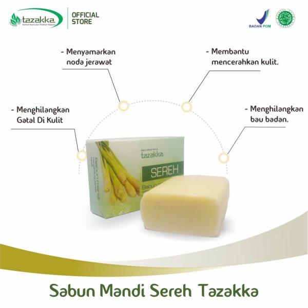 manfaat sabun sereh