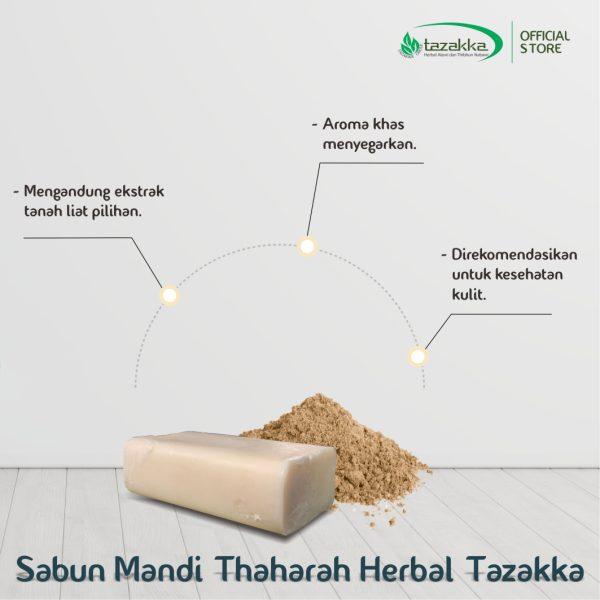 sabun mandi batang Thaharah