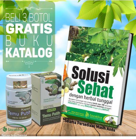 Beli herbal kista pelancar haid tazakka dapat bonus hadiah langsung buku katalog