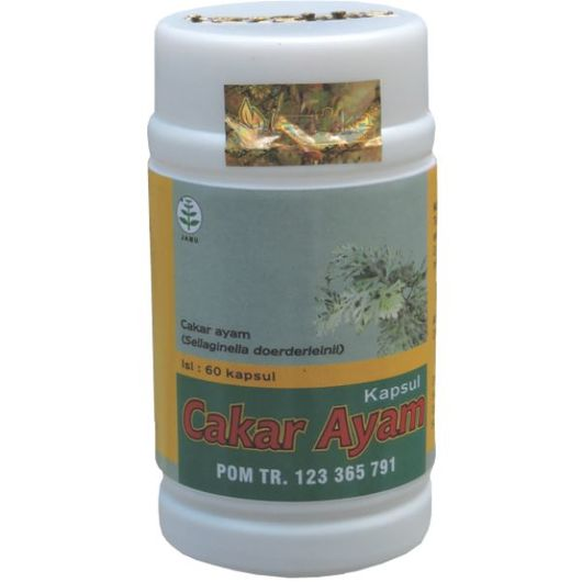 foto gambar produk herbal tazakka herbal sukoharjo manfaat tanaman cakar ayam obat batuk alami kemasan kapsul botol