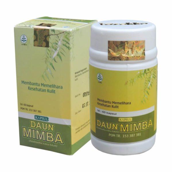Ekstrak Daun Mimba Herbal Tazakka 60 Kapsul