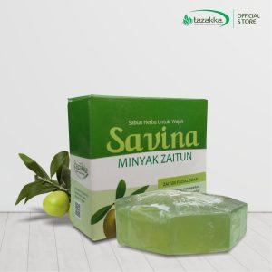 Jual Sabun Zaitun untuk Wajah Savina Kolagen herbal Tazakka