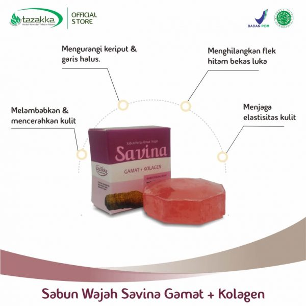 Manfaat gamat emas untuk kullit wajah sabun gamat Tazakka