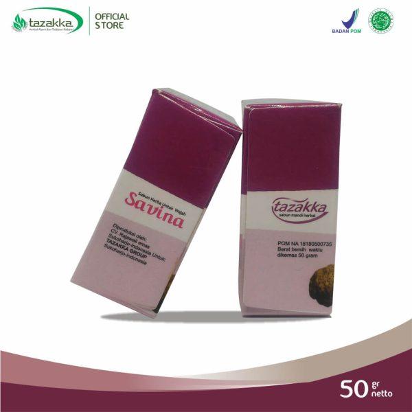 Savina Gamat Plus Kolagen Sabun Wajah Herbal Tazakka