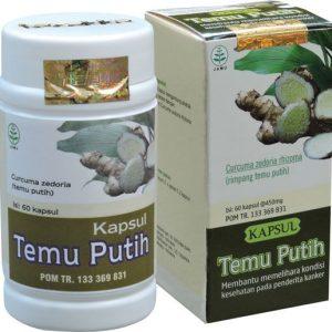 obat herbal pelancar haid temu putih tazakka