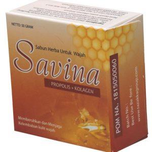 foto gambar Sabun wajah savina madu propolis tazakka herbal alami membersihkan kulit