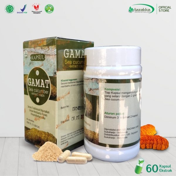 Herbal Gamat Teripang Emas