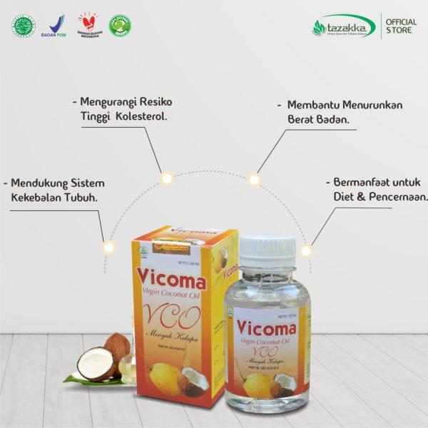 Manfaat VCO Minyak Kelapa Murni Virgin Coconut Oil
