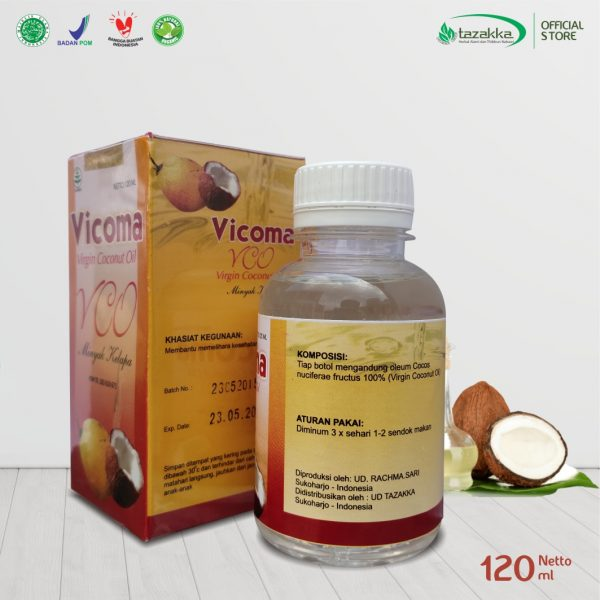 Virgin Coconut Oil VCO Vicoma