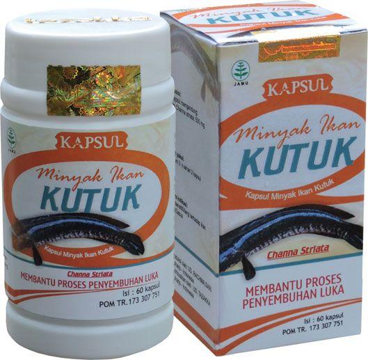 contoh foto gambar produk herbal tazakka group herbal sukoharjo manfaat minyak ikan kutuk gabus obat penambah protein dan penyembuh luka alami kemasan kapsul botol