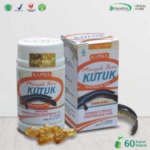 Kapsul Minyak Ikan Kutuk Gabus Herbal Tazakka 60