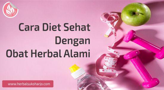 contoh foto banner artikel informasi seputar cara diet sehat dengan obat herbal alami dari tazakka