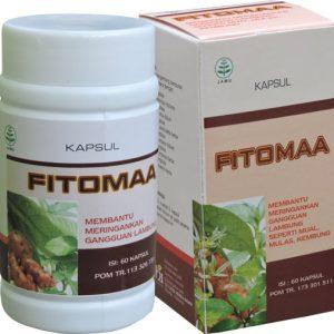 contoh foto gambar produk Obat Asam Lambung Atau Maag Herbal Fitomaa Alami Halal Berizin Edar Dan Berkualitas.