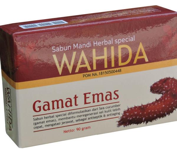 Sabun Mandi Herbal Wahida Gamat Emas Untuk Mencegah