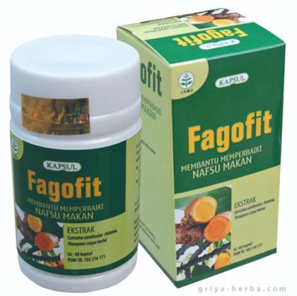 Fagofit Obat Herbal Alami Untuk Membantu Meningkatkan Nafsu Makan Dan Penambah Berat Badan.
