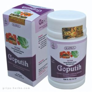 contoh foto gambar produk tazakka Goputih Obat Herbal Kapsul Untuk Mengatasi Masalah Keputihan Lendir Berlebih Pada Daerah Kewanitaan