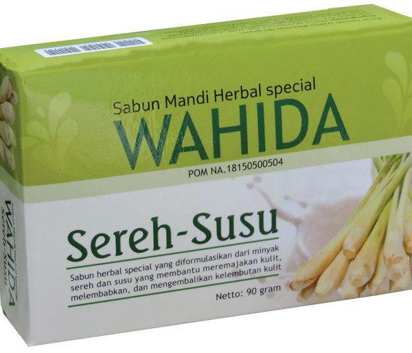 contoh foto gambar produk herbal tazakka group Sabun Herbal Wahida Sereh Susu Membantu Melembutkan Mengencangkan Dan Mencerahkan Kulit Secara Alami