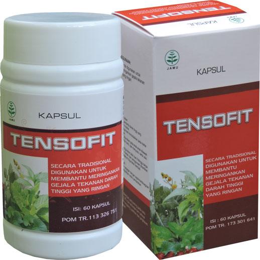 contoh foto gambar produk Obat Hipertensi Darah Tinggi Herbal Tensofit Alami Halal Berizin Edar Dan Berkualitas.