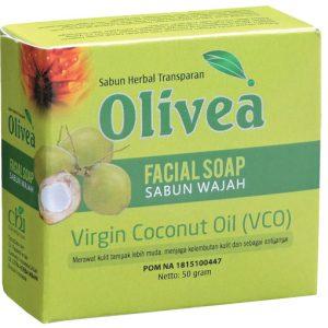 contoh foto gambar produk herbal tazakka Sabun Wajah Olivea Herbal VCO Untuk Mengilangkan Noda Flek Hitam Dan Mencerahkan Wajah.