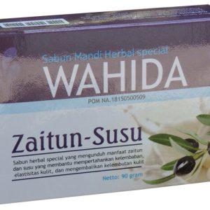 contoh foto gambar produk herbal tazakka group Sabun Mandi Herbal Wahida Zaitun Susu Membantu Melembabkan Dan Mengatasi Kulit Kering.
