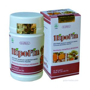 contoh coto gambar produk obat herbal untuk tekanan darah rendah hhipofin alami dari griya herba tazakka group