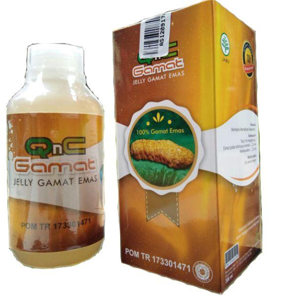 contoh foto gambar produk herbal tazakka sukoharjo GAMAT QNC jelly gamat emas untuk peyembuhan luka maag radang tenggorokan secara alami