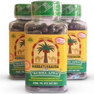 contoh foto gambar manfaat obat habbatussauda cap kurma ajwa herbal tazakka group ntuk kesehatan dari berbagai macam penyakit