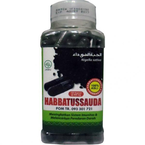 contoh foto gambar obat herbal herbal alami habbatussauda tazakka murah berkualitas