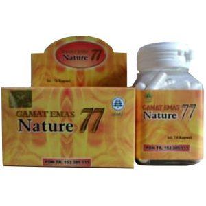 contoh foto gambar produk hebral tazakka sukoharjo Nature Gamat 77 obat herbal untk penyembuhan luka pasca operasi patah tulang secara alami.
