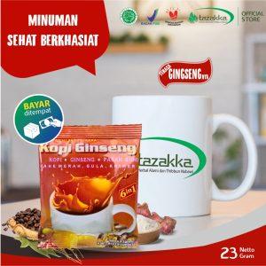 Kopi herbal Ginseng Tazakka