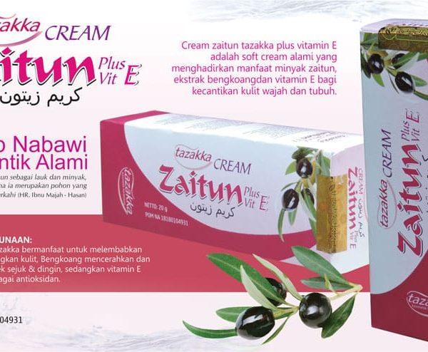 contoh foto gambar katalog produk herbal Cara Memutihkan Wajah Secara Alami Dengan Cream Zaitun Herbal Tazakka bagian 2