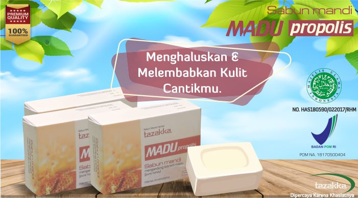 Sabun Mandi Herbal Madu Tazakka