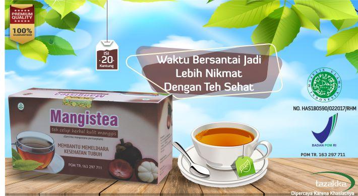 Manfaat Minum Teh Herbal Kulit Manggis Tazakka Untuk Penyakit Jantung