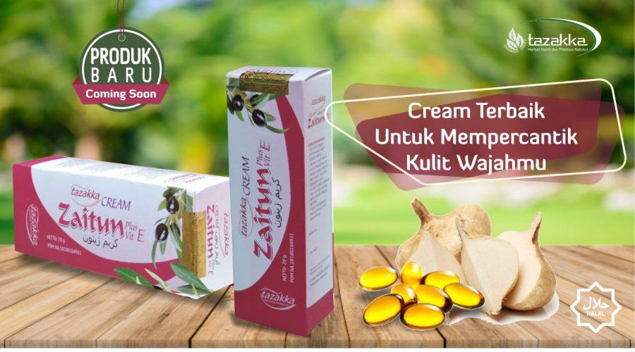Cara Memutihkan Wajah Secara Alami Dengan Cream Zaitun Herbal Tazakka