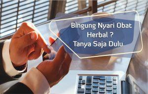 contoh foto gambar banner nomor konsultan untuk latyanan konsultasi obat herbal gratis dari tazakka