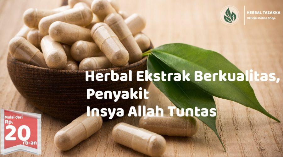 Keunggulan Herbal Kapsul Kualitas Ekstrak.
