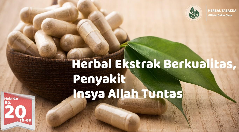 Toko Online Herbal Tazakka Kapsul Herbal Tunggal Kualitas Ekstrak