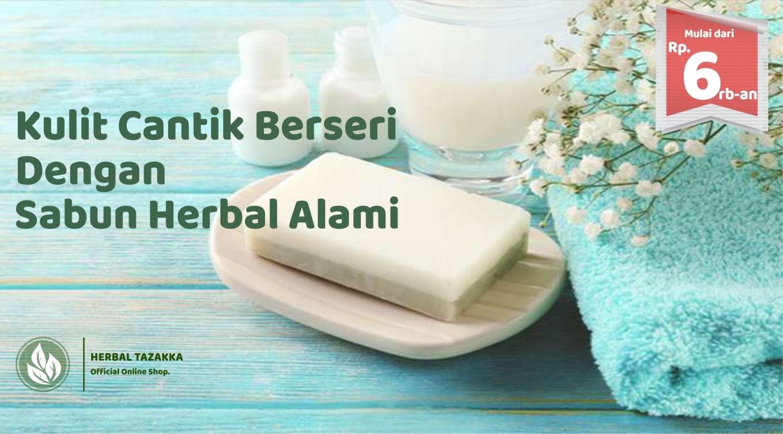 Jual Sabun Herbal untuk Muka dan mandi dari Tazakka