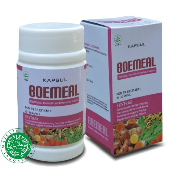 JUAL Obat Herbal Subur Kandungan Kapsul BOEMEAL Tazakka