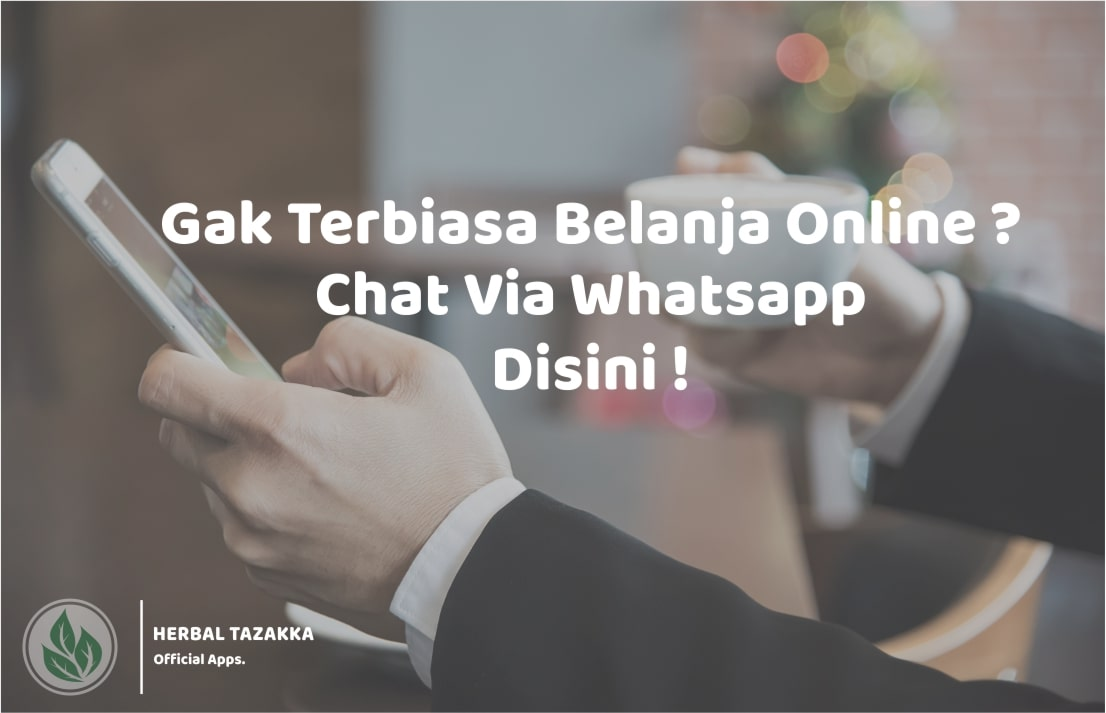 cara order produk beli online herbal Tazakka via whatsapp