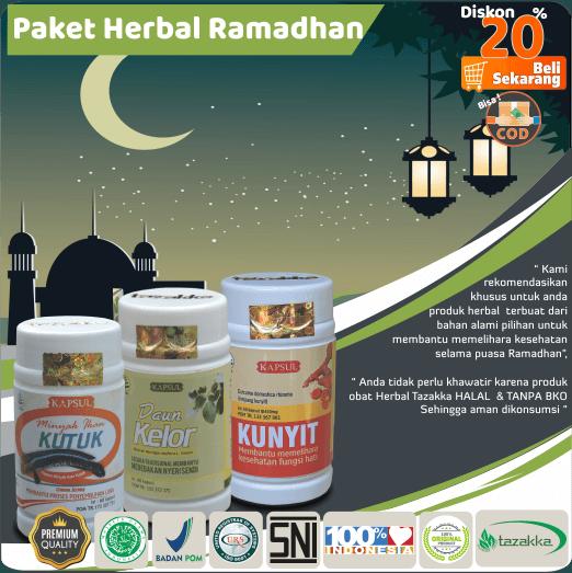 paket herbal puasa ramadhan