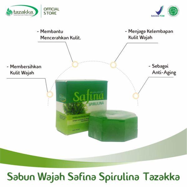 Manfaat sabun spirulina