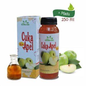 Sari Cuka Apel Murni Plus Madu merk Rachma Sari Tazakka