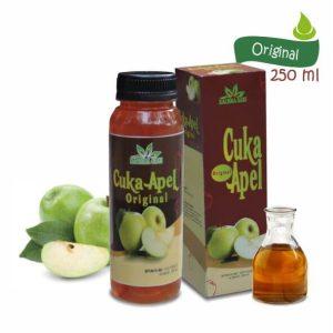Sari Cuka Apel Original 250 ml Apple Cider Vinegar Rachmasari herbal Tazakka