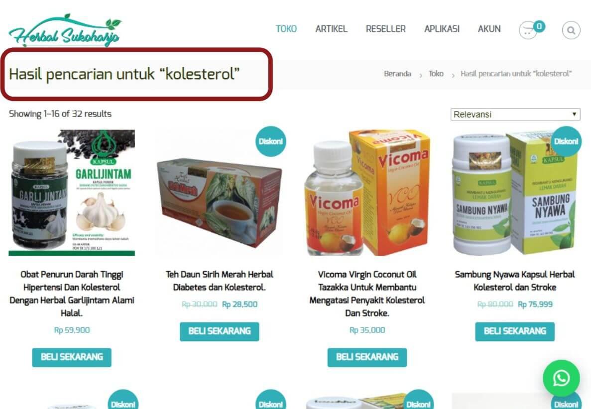 Cara order panduan langkah-langkah dengan gambar step by step belanja online di toko herbal terpercaya Tazakka Group 4B