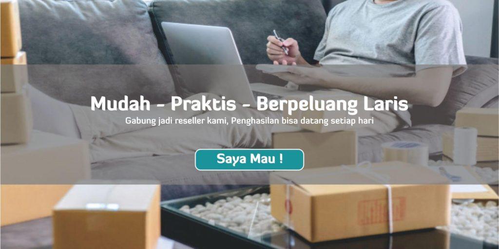 Peluang usaha bisnis online tanpa modal daftar jadi reseller menjadi dropship herbal Tazakka.